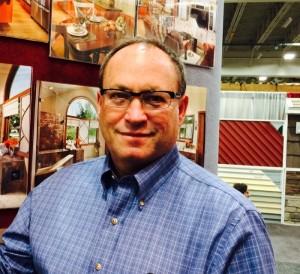 Mark Brick standing at NARI show